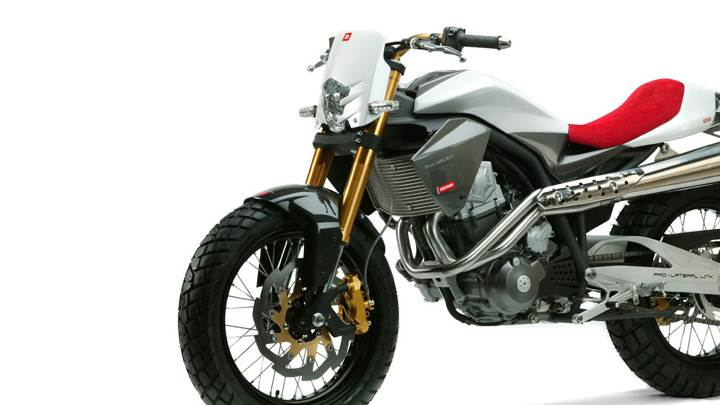 Derbi Mulhacen 659 In White And White Background